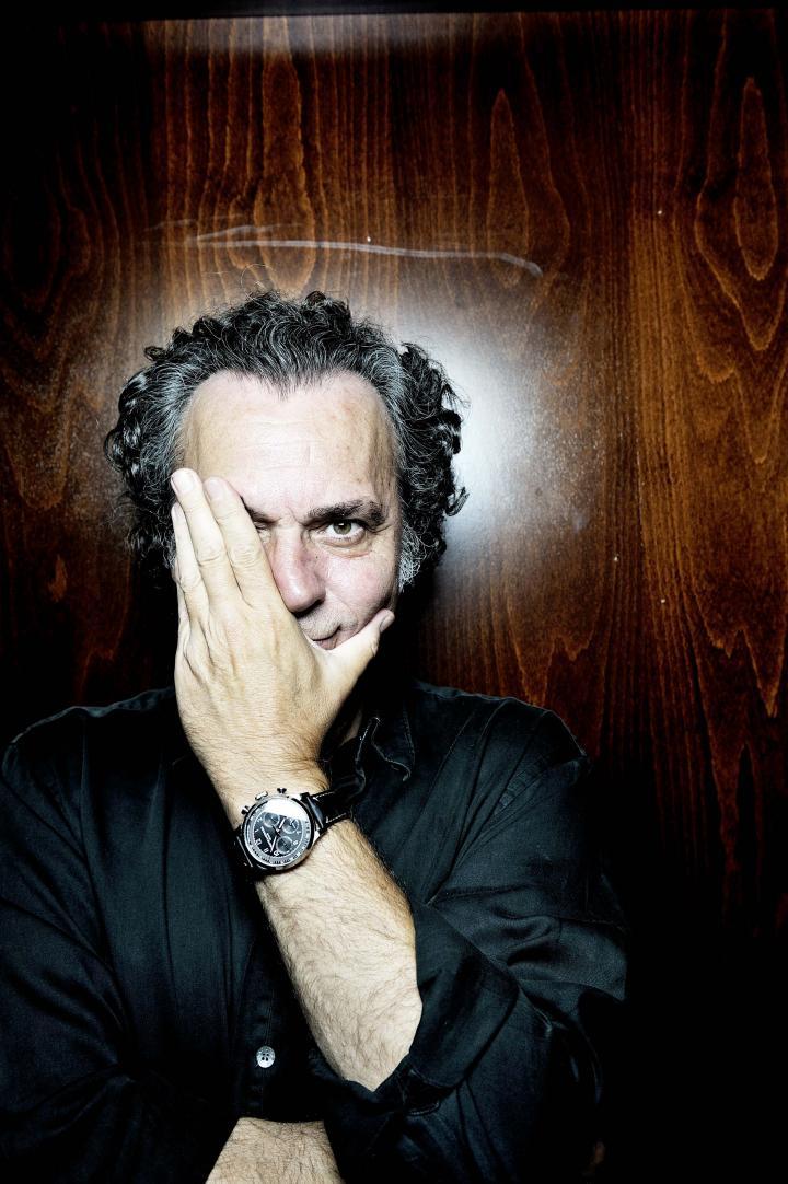 Fotografía de Alfredo Arias para Nthephoto. Jose Coronado portrait para GQ