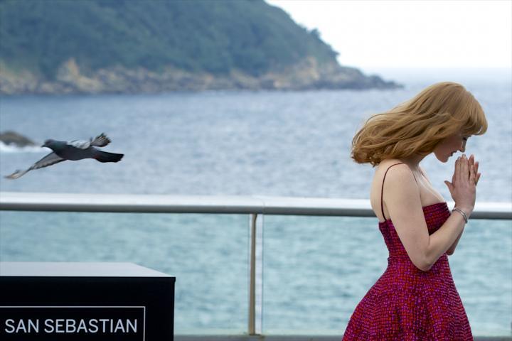 Fotografía de jose gegundez para Nthephoto. Jessica Chastain, photocall 'The Disappearance of Eleanor Rigby' en el Festival Internacional de Cine de San Sebastian