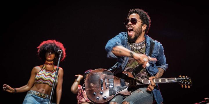 Fotografía de Mario  Cayuela para Nthephoto. Lenny Kravitz