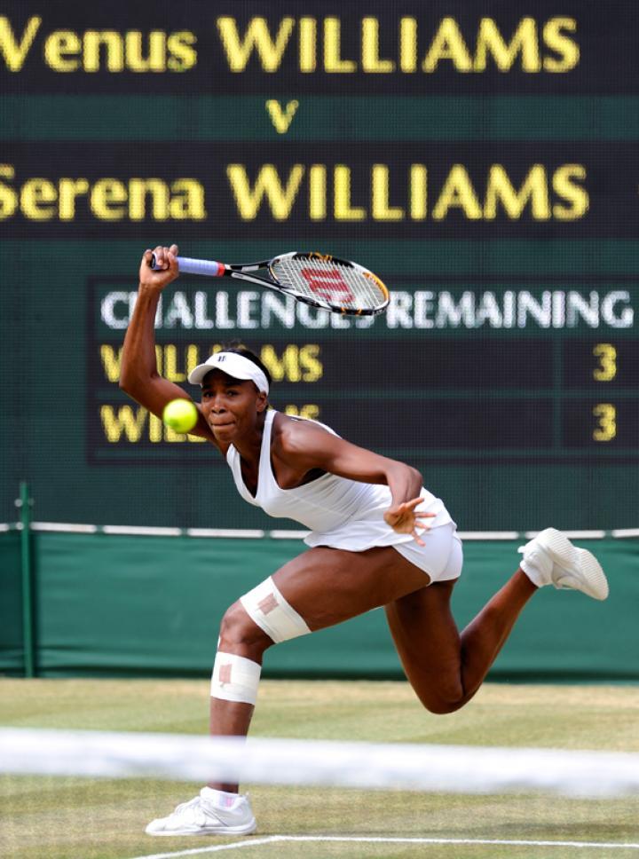 Fotografía de Sergio Carmona para Nthephoto. Venus Williams en la final de Wimbledon 2009