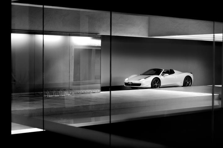 Fotografía de Christian Colmenero Martín para Nthephoto. Ferrari 458 Spider